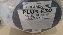 Materac 90x200x11 PLUS F30 DREAMZONE Piankowy