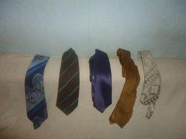Продаются 5 галстуков (можно коты или собачки)-30грн/шт.