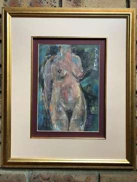ORIGINAL PAINTING With Valuation Certificate worth R2500 - A Steal!