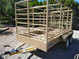 sheep /pig/ cattel trailer new