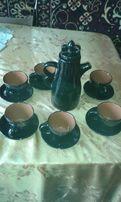 кофейный набор из керамики СССР