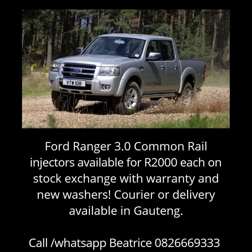 Ford Ranger 3.0 injectors 0
