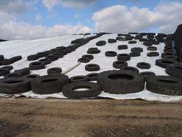 Siatki plandekowe plandeki rolnicze uprawne do brykietu peletu silos