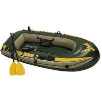 Новая! Лодка Интекс Intex SeaHawk 2 с насосом и веслами (68367)68347