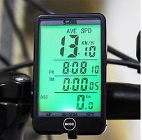 Вело компьютер +подсветка сенсорный SunDing SD-576 A 5+см 27 функций
