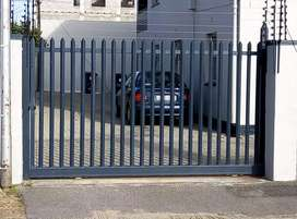 PALISADE FENCING , NUTEC , WOOD , POLYPLANKS GATES AND FENCING