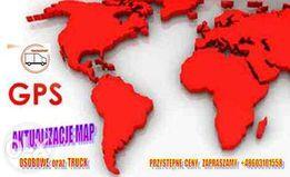 Aktualizacja map nawigacji - GARMIN, LARK, MIO, TOMTOM, MODECOM, itp.