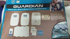 Guardian wireless door chime&wireless remote Anti-theft alarm for sale