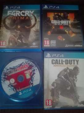 Playstation 4 games for sale or swop