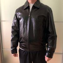 Чоловіча шкіряна куртка кожа мужская куртка