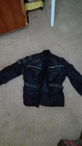 Padded ladies bike jacket