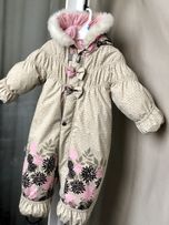 Зимний Комбинезон LENNE Rosie 74 + 6 см