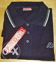 Kappa - koszulka polo NOWA 100% bawełna t-shirt granatowa