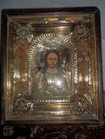 старинная икона Образ Спасителя