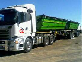 34 Ton Side Tipper for Hire or Rent