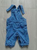 ogrodniczki spodnie sztruksowe M&S jak zara smyk next hm r68
