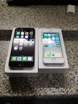 Iphone 6 + iphone 5s IMMACULATE CONDITION