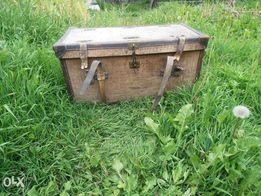 Винтажный чемодан-сундук 19 века