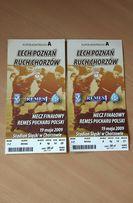 Bilet z meczu Finału Pucharu Polski Lech Poznań - Ruch Chorzów 2009