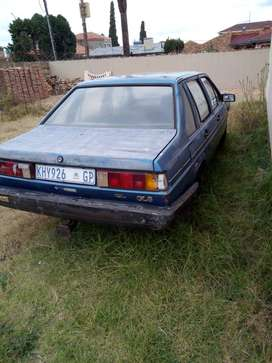 Urgent sale just needs a battery and radiator running condition