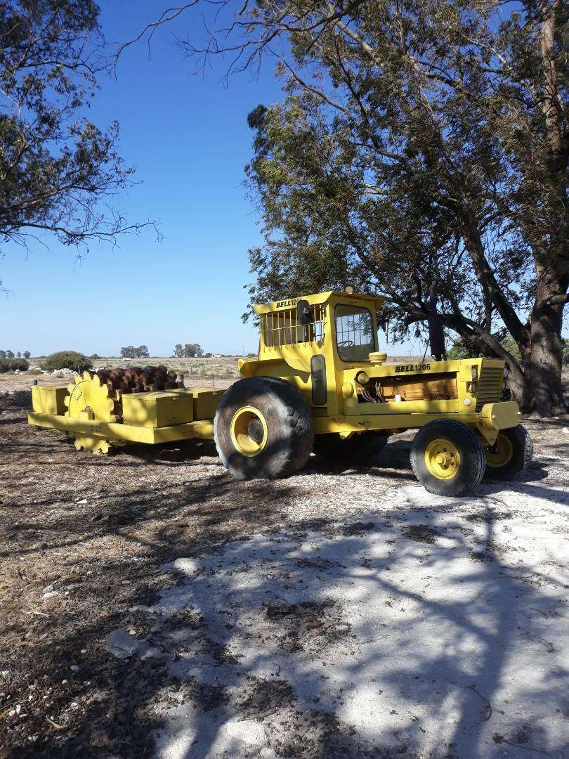 BELL 1206 Tractor & Roller for sale 0