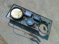 Image of Meter cluster, for very old vehicle