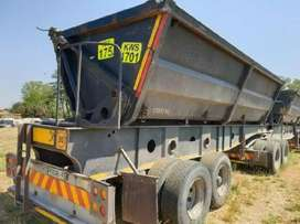 34 TON SIDE TIPPER TRUCKS FOR HIRE IN SOUTH AFRICA