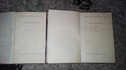 Książki Krzyżacy 2 tomy 1948