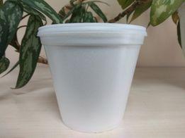 АКЦИЯ!!! Одноразовая супница с крышкой 460 мл, контейнер для супа