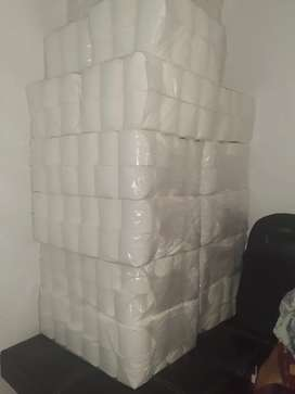 100% Pure white virgin toilet paper for Sale
