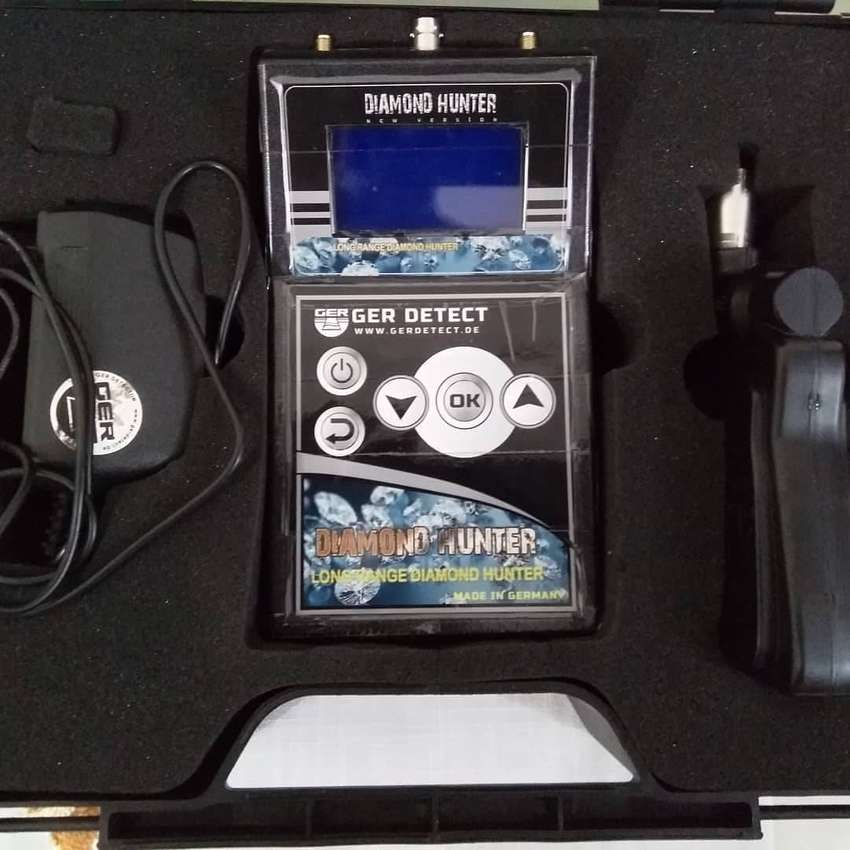 GER Diamond and Gem hand held detector year of purchase2018 0