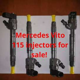 Mercedes Benz 115 diesel Injectors available