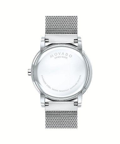 Часы Movado Mesh Museum Black Dial Stainless Steel модель 0607219 Харьков - изображение 7