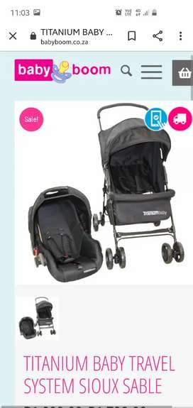 Titanuim baby travel set