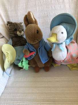 Beatrix Potter, Peter Rabbit stuffed toys
