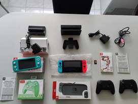 Nintendo switch v2 as new Neon and Red used a few times console as new