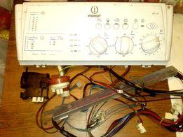 Panel sterujący pralki INDESIT WITL85 + okablowanie