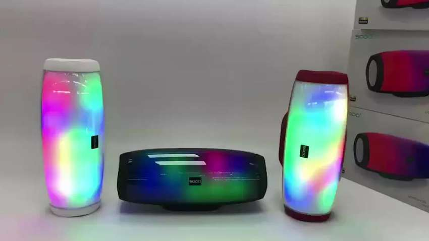 SODO L1 Life TWS NFC Multifunction 5 in 1 Speaker with Light Effects 0