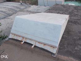 Крышка на лодку Прогресс: металл 2мм.