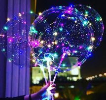 От 1 шт Светящиеся LED шарики Bobo светодиодные шары на праздник