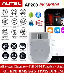 Autel MaxiAP AP200 Bluetooth OBD2 Code Reader with Full System Diag