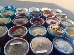 Продам зерно овес,ячмень,пшеницу, кукурузу,просо, крупы,сено,комбикорм