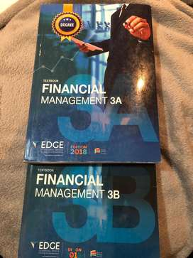 Financial Management 3A & 3B Edge textbook
