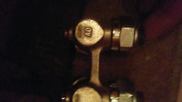 Продам кран нижней подключки