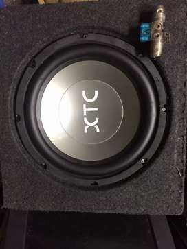 Sub woofer with fuze