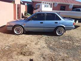 "I""m selling toyota corolla sprinter 1.6i...By R65000 negotiatable no s"