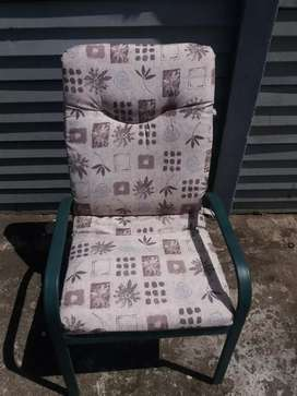 Patio chairs x6,  tv stand , office chair