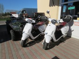 Kymco New Like II 125i (CBS) Euro4 biały nowy