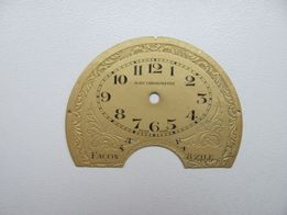 Циферблат к старинным антикварным часам AGRU Chronometre Швейцария