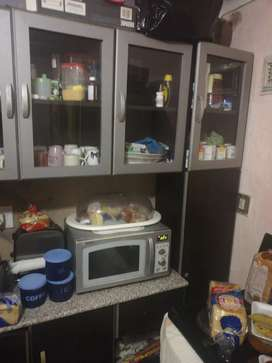 Kitchen cupboards for sale and oven